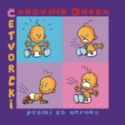 Čarovnik Grega - Četvorčki (Pesmi Za Otroke)